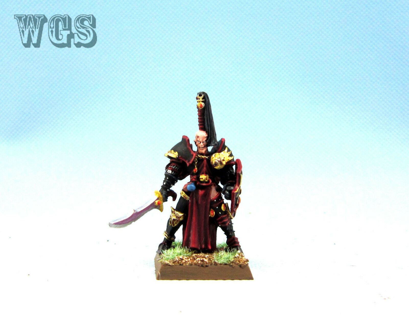 25mm Warhammer Fantasy WGS Painted Slaannesh Chaos Champion WC030
