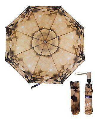 Fantasy Lens Flare Motion Light//Rain Drops Compact Folding Umbrella UM3003