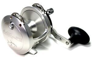 Details about New Avet HX 5/2 Fishing Reel 2 Speed-Silver- Free Spooling  and Ship