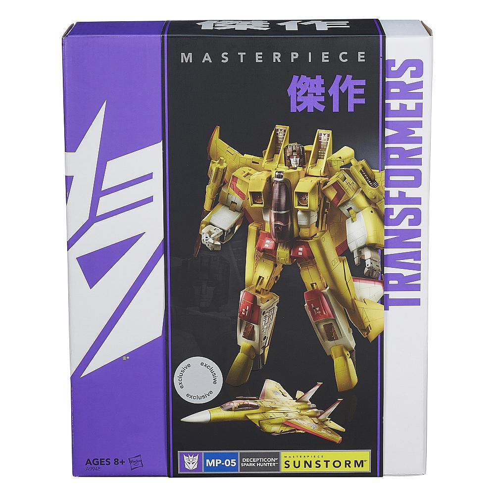 el más barato Transformers Masterpiece Masterpiece Masterpiece MP-05 Sunstorm Tru Exclusivo Nueva Sellada Caja Raro  Vuelta de 10 dias