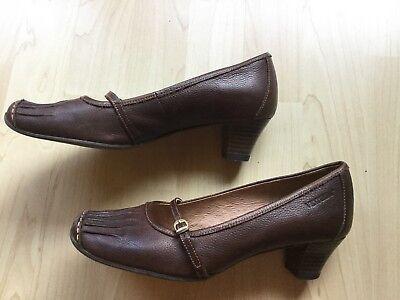 Venturini Damen Schuhe Pumps, Leder, Gr.36, Braun Extrem Effizient In Der WäRmeerhaltung