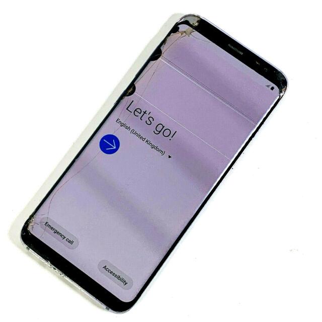 Samsung Galaxy s8 sm-g950f 64gb Silber (entsperrt) defekt LCD, keine Reaktion 967