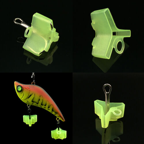 10//50Pcs Durable Fishing Treble Hooks Jig Covers Case Bonnets Caps*ProtectorPVCA