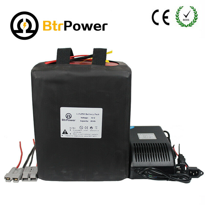 36V 10ah Lithium LiFePO4 Battery for Electric Scooter Dirt Bike 500W Motor Kit