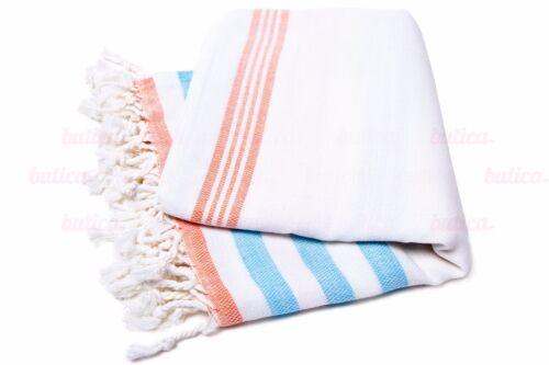 TURC Serviette peshtemal Fouta serviette de plage en coton-bambou Hammam Serviette USA Vendeur