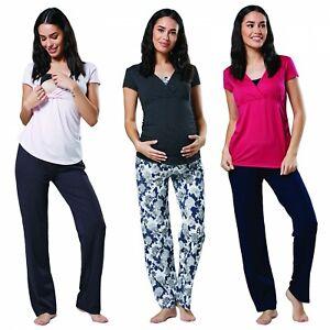 3ed273ad4be5f Happy Mama. Women's Maternity Top Nursing Breastfeeding Pyjamas ...
