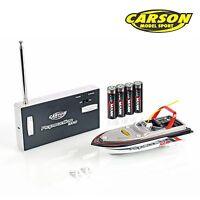 Carson Elektro Rc Speed Boot Micro Rapscallion 100% Rtr Komplett Set 108016