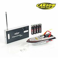 Carson Elektro Rc Speed Boot Micro Rapscallion 100% Rtr Komplett Set 108016