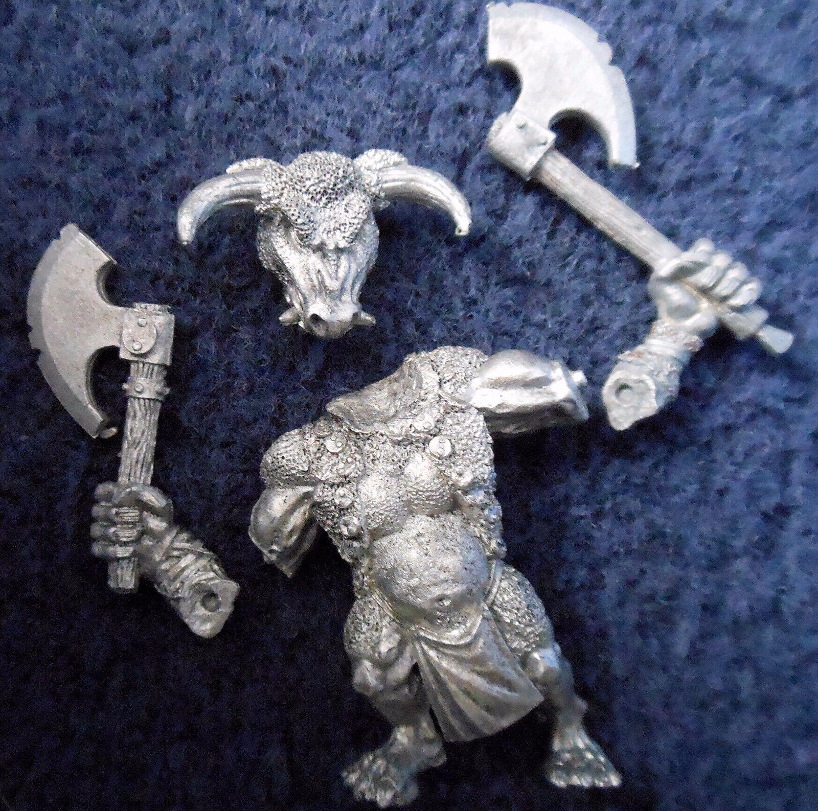 1998 Chaos Beastman Minotaur with Additional Hand Weapon 3 Citadel Beastmen Army