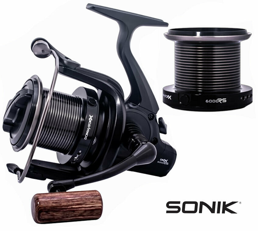 Sonik Dominator X 6000RS Big Pit   Spod Marker Reel NEW 2019 MODEL + Spare Spool