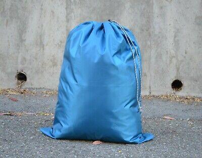 "New Lightweight Heavy Duty Laundry Bag Water Resistant Medium 23x30/"" Teal Green"