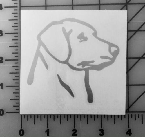 Multiple Colors Labrador Retriever Decal Sticker Laptop Lab Bumper Dog Hunt