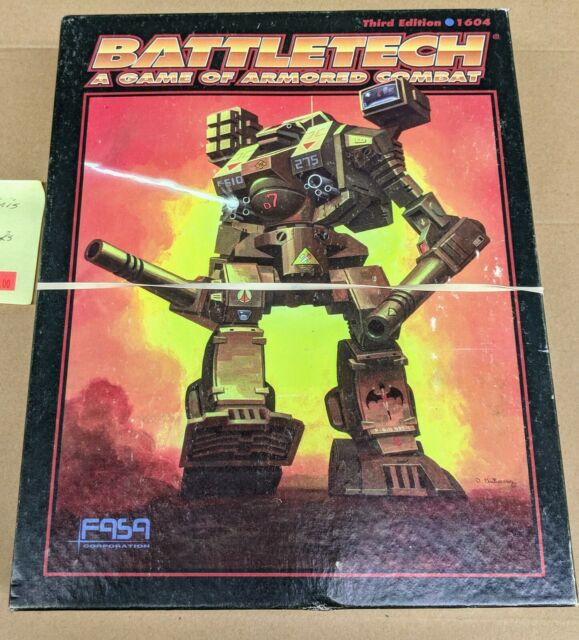 Battletech 3rd Edition Complete Box W   Extras