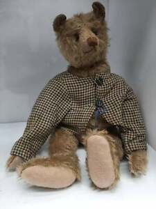 "Rare Artist made 12"" OOAK Mohair Teddy Bear by Artist Terry John Woods 1990's"