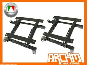AUTOTECNICA-SEAT-RAIL-SLIDERS-RIGHT-amp-LEFT-FOR-TOYOTA-HILUX-RZN-1998-2005-SPORTS