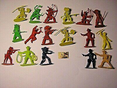 Mai giocati Soldatini Toy Soldiers Cowboys della PRB Plastica.Cm 6.