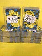 Mozlly Mini Smile Face Playing Cards 12 Decks Sport Gaming Set Set of 12