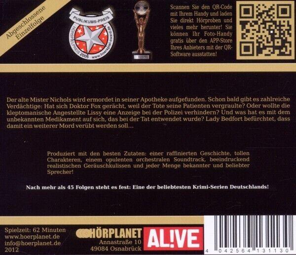 LADY BEDFORT - DIE SORGEN DES MR.BLOOM (48)   CD NEU