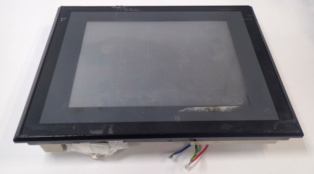 OMRON NS10-TV01B-V1 HD TFT COLOR LCD INTERACTIVE DISPLAY 24Vdc TESTED & WORKING