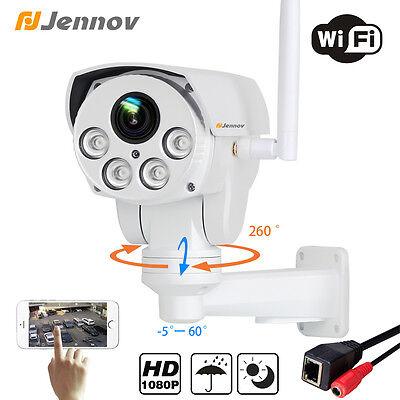 HD 1080P WiFi Pan Tilt Wireless Outdoor Onvif D/N IR Security Network IP Camera
