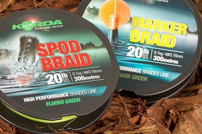 Korda Spod Braid Braid Braid Marker Braid Carp Fishing dd4b2f