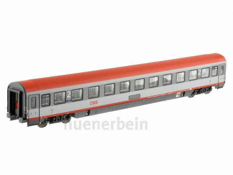 LS Models 47133 ÖBB 2. KL. personenwg BMZ 21-91.1 11Abt Grey Light Grey Red Ep6 NEW