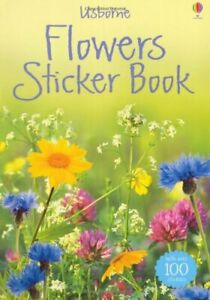 Flowers-Sticker-Book-Usborne-Spotters-039-Sticker-Guides-Lisa-Miles-Joyce-Bee-Hi