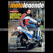 MOTO LEGENDE N°157 LANSIVUORI YAMAHA XS 400 SECA PUCH 125 SUZUKI RG 500 GAMMA