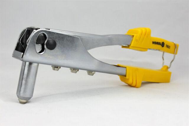 NIETZANGE BLINDNIETZANGE POPNIETZANGE VOREL BLINDNIETEN für 2,4mm - 4,8mm