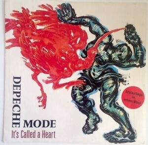 DEPECHE-MODE-7-034-1985-Erstpressung-Red-Vinyl-It-039-s-called-a-Heart-INT-111631