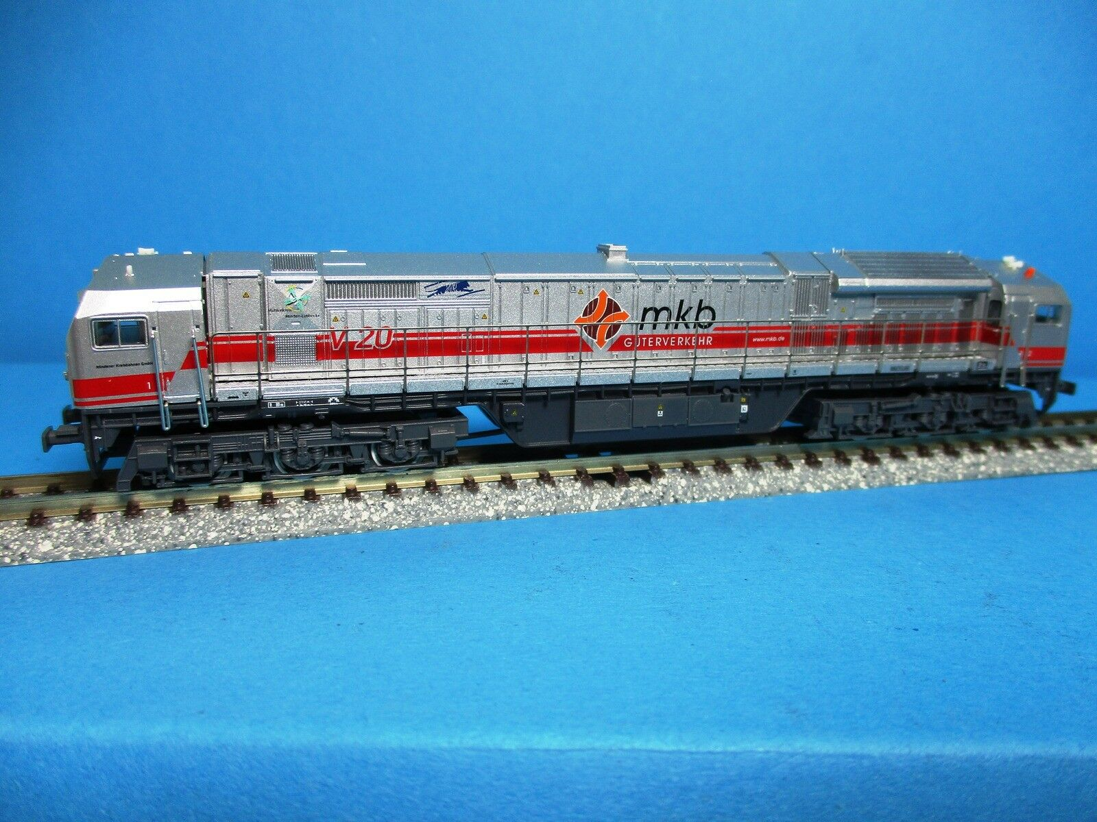 Mehano T512 Diesellokomotive V 330 bluee Tiger mkb,analog,OVP,M 1  160