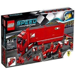 lego speed champions 75913 f14 t scuderia ferrari truck set new in box sealed 673419230018 ebay. Black Bedroom Furniture Sets. Home Design Ideas