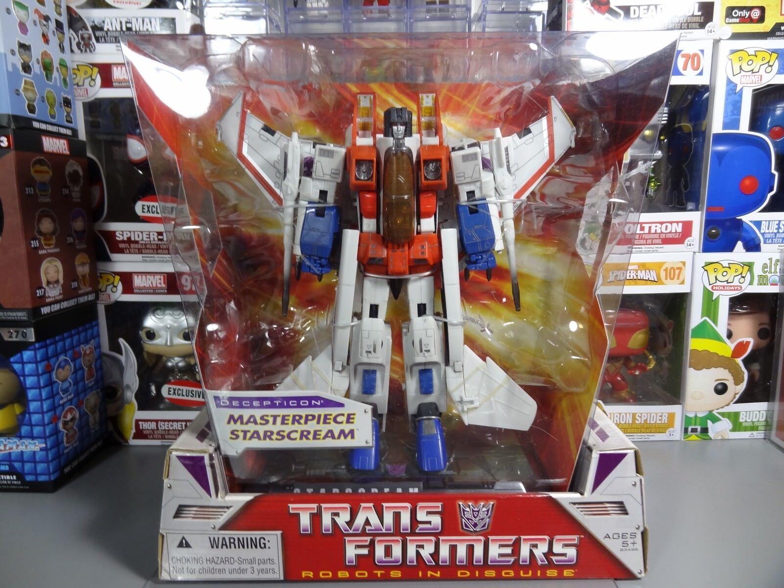 Transformers obra maestra Decepticon Starscream