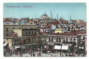 Constantinople-Stamboul-Istanbul-Turkey-Old-Postcard-42Q