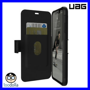 brand new 8933f 4cea8 Details about UAG Urban Armor Gear Metropolis Rugged Folio Wallet Case,  iPhone XS Max, Black