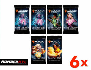 Core-Set-2019-M19-MTG-Booster-Magic-The-Gathering-Factory-Sealed-Cards-Packs-NEW