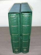 US, Amazing Stamp Collection in a 2 Volume Lighthouse Hingeless album w/cases
