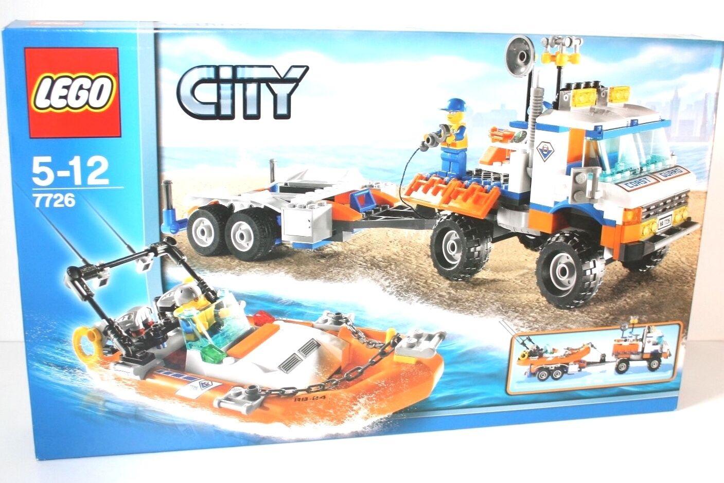 LEGO® City 7726 Küstenwache Lastwagen mit Stiefel NEU OVP MISB 2008