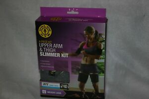 Golds-Gym-4-Piece-Kit-Upper-Arm-and-Thigh-Slimmer-Kit-fits-most-sizes-new