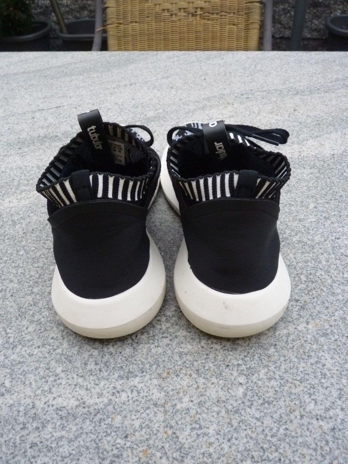 Adidas tubuläre trotzig trotzig trotzig primeknit schwarz wei ß g 37 1 / 3 uns 6 a4fd2a