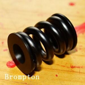 Titanium-Suspension-Rear-Coil-Spring-Shock-Shox-Rubber-block-for-Brompton