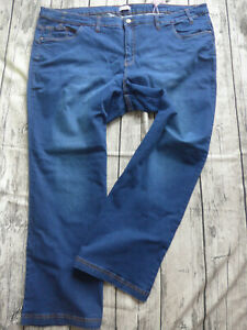Sheego-Jeans-Trousers-Stretch-Ladies-Size-44-to-58-Lana-Blue-Blue-296