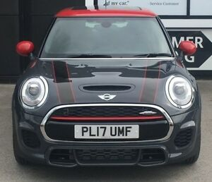 Image Is Loading Mini Clubman John Cooper Works Front Bonnet Stripes