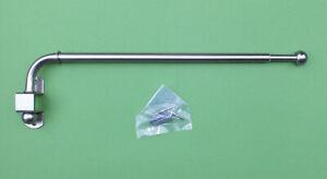 Gardinenstange-silber-schwenkbar-und-ausziehbar-Schwenkstange-60-100-cm