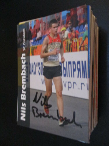59933 Nils Brembach Leichtathletik original signierte Autogrammkarte