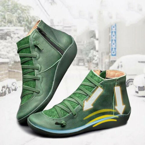 New Arch Support Boots ORIGINAL- Hot Flat Heel Boots Multi Colors