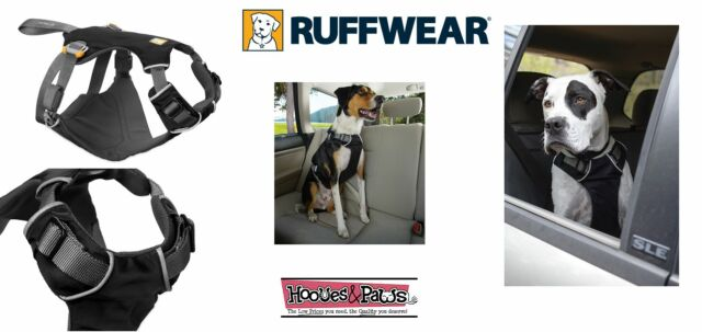 RuffWear Load Up Harness Pet Dog Vehicle Safety Harness Obsidian Black