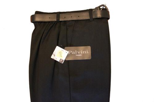 SNR-BOYS Palvini Trouser-STURDY Fit-PREMIUM QUALITY-Elasticated Back-BLACK//GREY