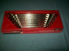 New Snap On 38 Thru 34 12 Point Box Extra Long Wrench Set Oexl707b Sealed