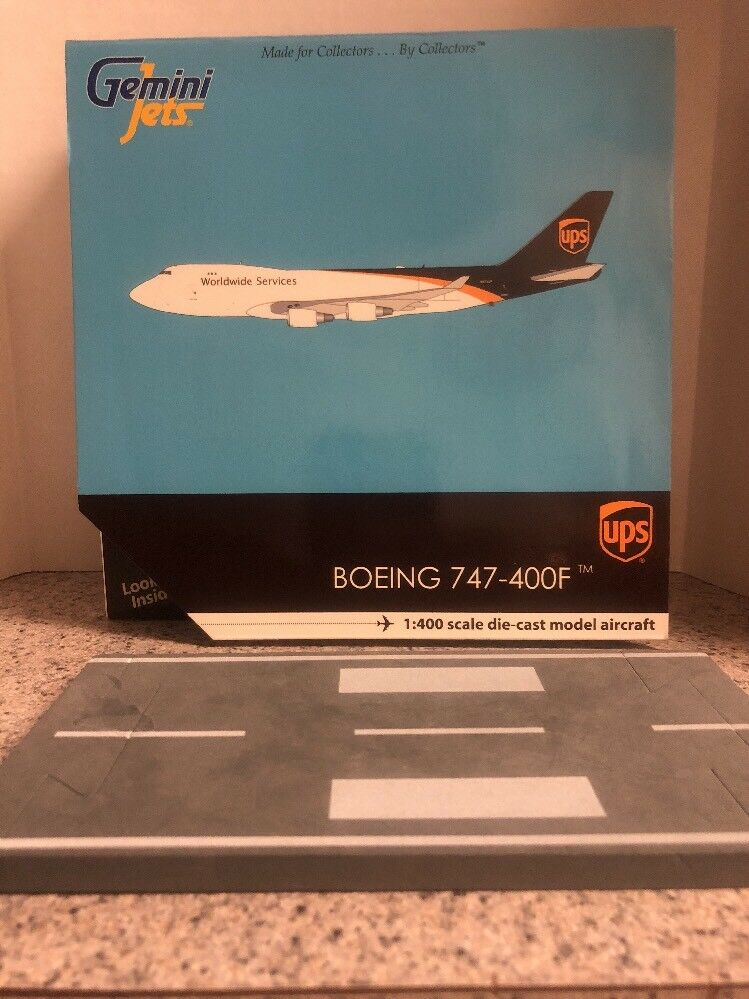 GJ 400 Scale Diecast Model UPS Boeing 747-44 afscd avion commercial N572UP